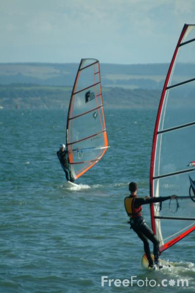 Picture of Windsurfer - Free Pictures - FreeFoto.com