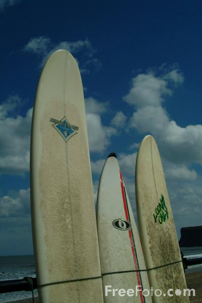 Picture of Surfboard - Free Pictures - FreeFoto.com