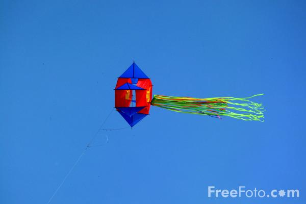 Picture of Kite - Free Pictures - FreeFoto.com