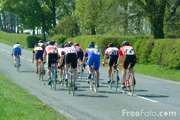 Picture of Cycle Racing - Free Pictures - FreeFoto.com