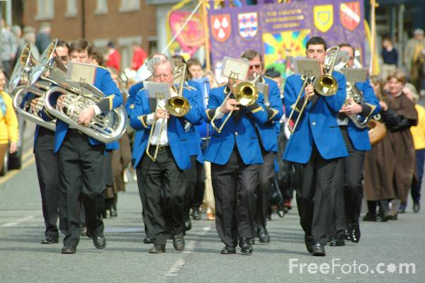 Picture of Ellington Colliery Band - Free Pictures - FreeFoto.com