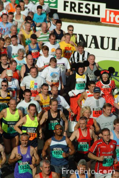 Picture of BUPA Great North Run 2002 - Free Pictures - FreeFoto.com