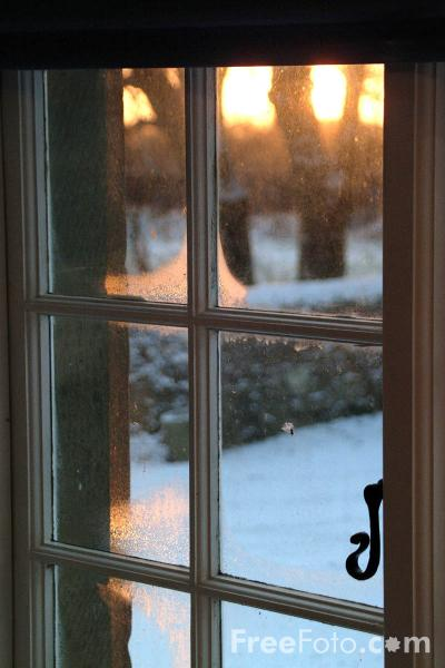 Picture of Winter Window - Free Pictures - FreeFoto.com