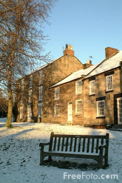 Picture of Winter Scene, Osmotherley, North Yorkshire - Free Pictures - FreeFoto.com