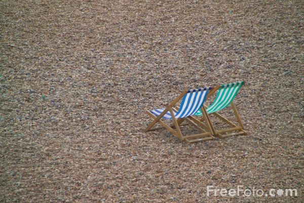 Picture of Deck Chair - Free Pictures - FreeFoto.com