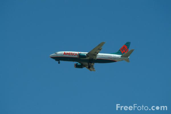 Picture of America West Airlines Boeing 737-3G7 N160AW - Free Pictures - FreeFoto.com