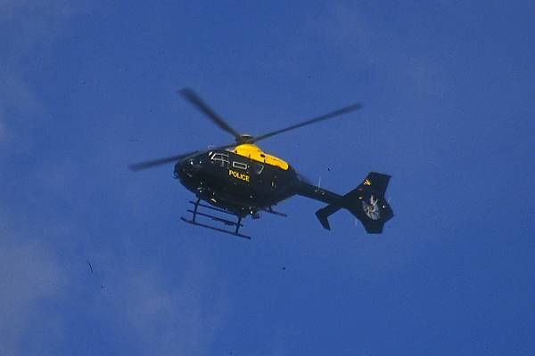 Picture of Police Helicopter - Free Pictures - FreeFoto.com