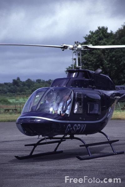 Picture of Bell Jet-Ranger - Free Pictures - FreeFoto.com