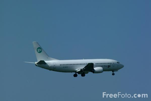 Picture of Go Fly Boeing B737-300 G-IGOZ - Free Pictures - FreeFoto.com