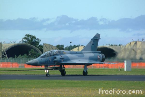 Picture of French Air Force Mirage 2000, RAF Leuchars Airshow - Free Pictures - FreeFoto.com
