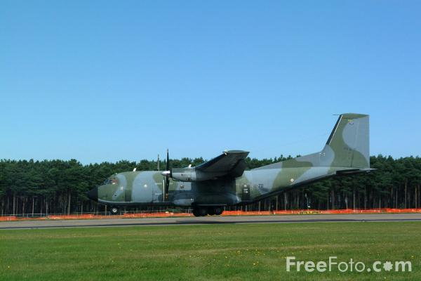 Picture of French Air Force C-160 Transall twin turboprop transporter - Free Pictures - FreeFoto.com