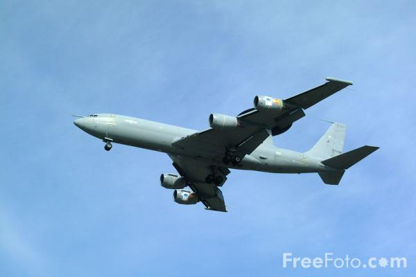 Picture of RAF Boeing E3D Sentry Airborne Early Warning (AEW) aircraft, RAF Leuchars Airshow - Free Pictures - FreeFoto.com