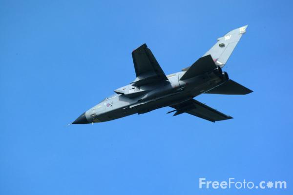Picture of RAF Tornado GR1, RAF Leuchars Airshow - Free Pictures - FreeFoto.com