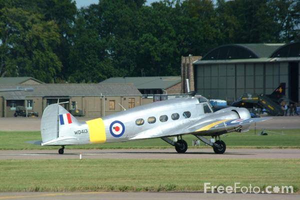 Picture of The only flying example of an Avro Anson in the world, RAF Leuchars Airshow - Free Pictures - FreeFoto.com