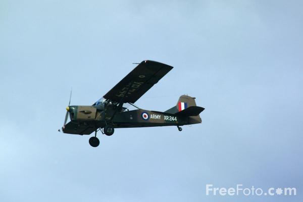 Picture of Auster B.5 AOP.9 XR244, Army Air Corps Historic Flight, RAF Leuchars Airshow - Free Pictures - FreeFoto.com