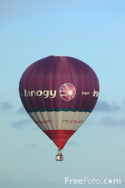 Picture of Innogy / Npower Hot Air Balloon - Free Pictures - FreeFoto.com