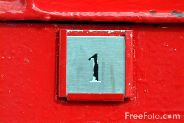 Picture of Number One - Free Pictures - FreeFoto.com