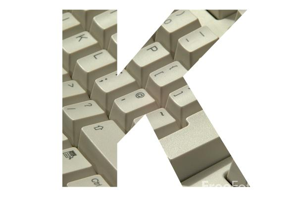 Picture of Letter K - Free Pictures - FreeFoto.com
