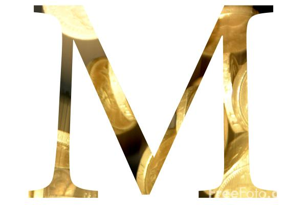 Picture of Letter M - Free Pictures - FreeFoto.com