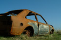 Image Ref: 2003-04-10 - Rusty Burnt Out Car, Viewed 6224 times