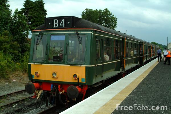 Picture of Class 107 DMU, Leyburn, Wensleydale Railway - Free Pictures - FreeFoto.com
