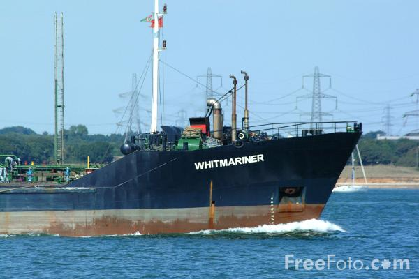 Picture of Small Oil Tanker - Whitmariner - Free Pictures - FreeFoto.com