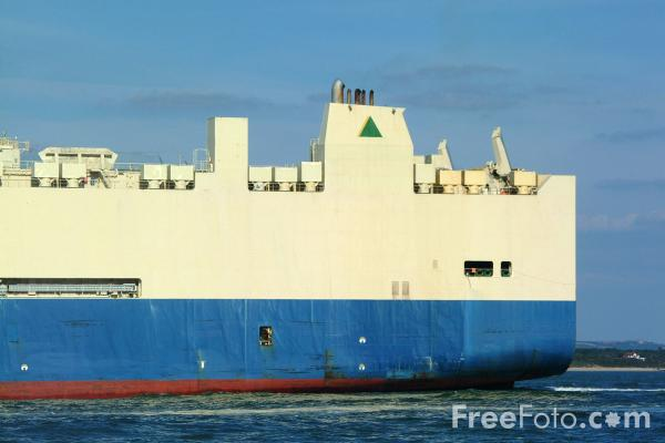 Picture of Asain King PCTC - Pure Car Truck Carrier - Free Pictures - FreeFoto.com
