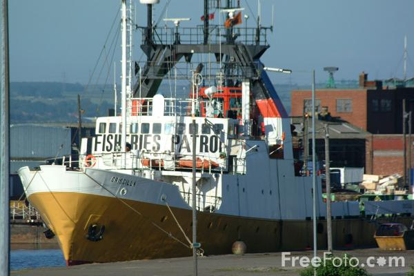 Picture of Criscilla, Fisheries Patrol, Hull - Free Pictures - FreeFoto.com