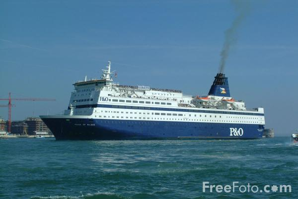 Picture of P&O Pride of Bilbao Ferry - Free Pictures - FreeFoto.com
