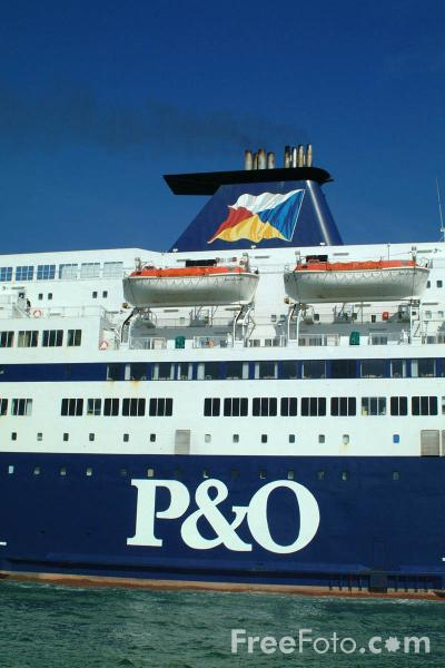 Picture of P&O Pride of Le Harve Ferry - Free Pictures - FreeFoto.com