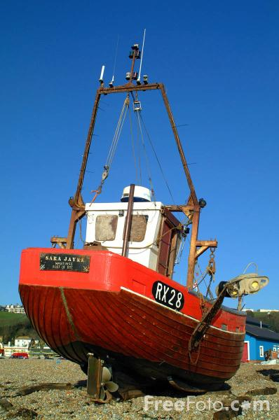 Picture of Fishing Boat, Hastings, East Sussex - Free Pictures - FreeFoto.com