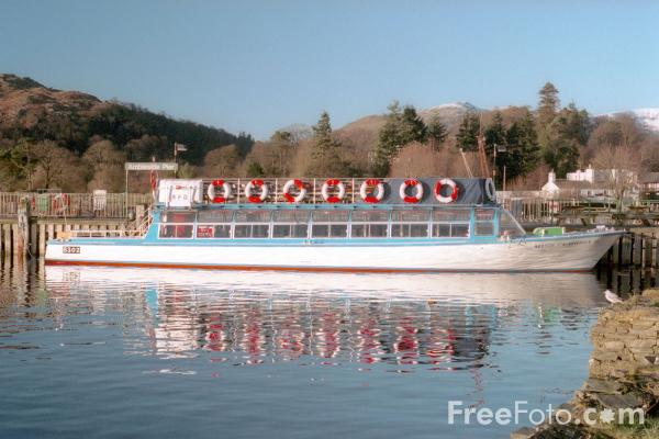 Picture of Ferry, Windermere, The Lake District - Free Pictures - FreeFoto.com