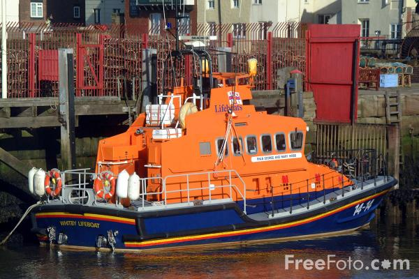 Picture of Whitby Lifeboat - Free Pictures - FreeFoto.com