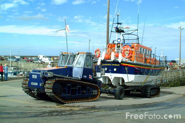 Picture of RNLB Grace Darling, Seahouses - Free Pictures - FreeFoto.com