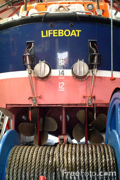 Picture of RNLI All Weather Lifeboat - Free Pictures - FreeFoto.com