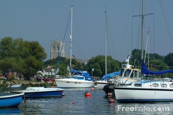 Picture of Yachts, Christchurch, Dorset - Free Pictures - FreeFoto.com