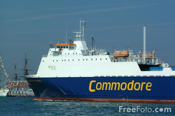 Picture of Commodore Goodwill RoRo ferry - Free Pictures - FreeFoto.com