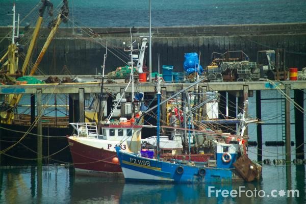 Picture of Fishing Boats - Free Pictures - FreeFoto.com