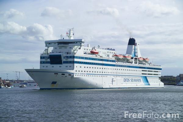 Picture of DFDS Seaways M/S Queen of Scandinavia - Free Pictures - FreeFoto.com
