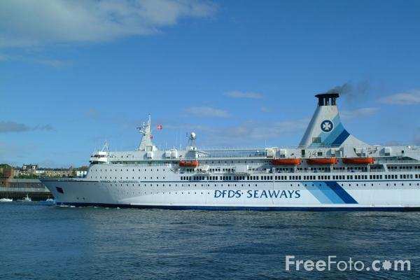 Picture of DFDS Seaways M/S Prince of Scandinavia - Free Pictures - FreeFoto.com