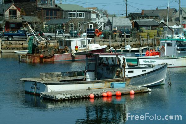 Fishing boat rockport massachusetts usa pictures free for Mass commercial fishing license