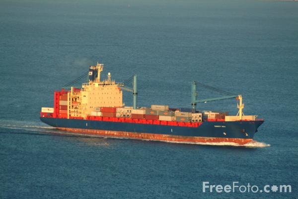 Picture of Container Ship - Free Pictures - FreeFoto.com