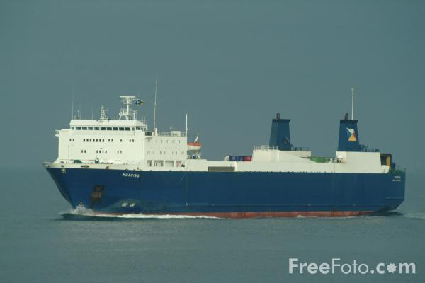 Picture of P&O North Sea Ferries Norking - Free Pictures - FreeFoto.com