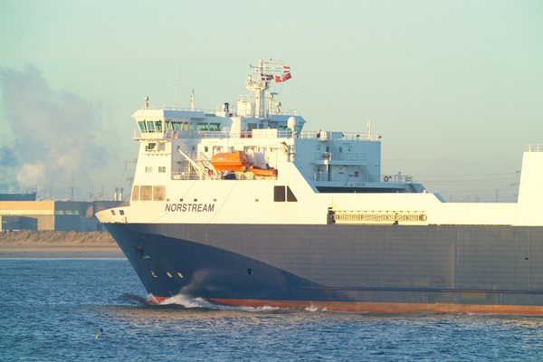 Picture of Norstream P&O North Sea Ferries Ro-Ro carrier vessel - Free Pictures - FreeFoto.com