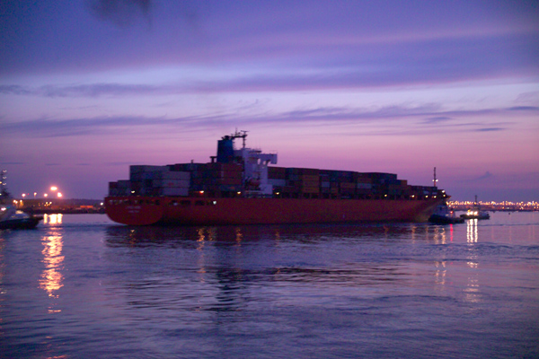 Picture of Cargo Ship - Free Pictures - FreeFoto.com