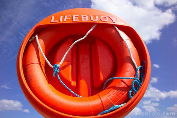 Picture of Lifebelt - Free Pictures - FreeFoto.com