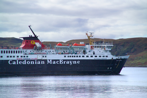 Picture of MV Isle of Mull Caledonian MacBrayne Ferry - Free Pictures - FreeFoto.com