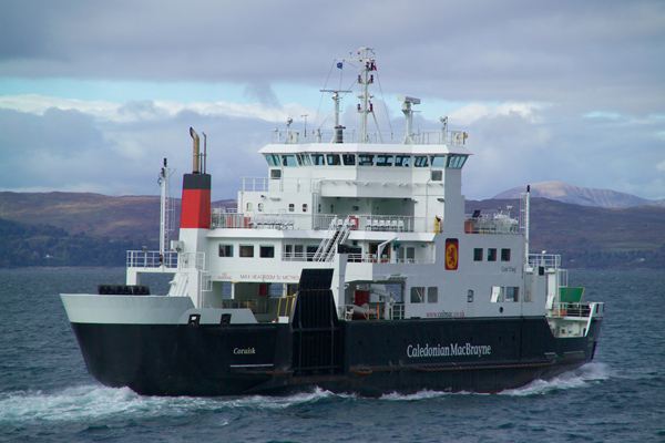 Picture of MV Coruisk, Caledonian MacBrayne Armadale - Mallaig Ferry - Free Pictures - FreeFoto.com