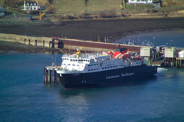 Picture of MV Clansman, Caledonian MacBrayne Ferry, Uig, Isle of Skye, Scotland - Free Pictures - FreeFoto.com