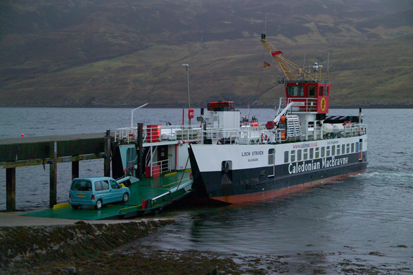 Picture of MV Loch Striven, Caledonian MacBrayne Ferry, Sconser, Scotland - Free Pictures - FreeFoto.com